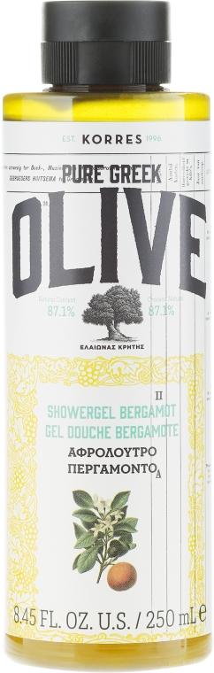Kremowy żel pod prysznic Bergamotka - Korres Pure Greek Olive Bergamot Shower Gel — фото N1