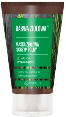 Maska ziołowa do włosów wypadających Skrzyp polny - Barwa Ziołowa — фото N1