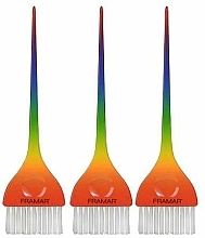 Kup Zestaw pędzli do farbowania - Framar Y'all Classic Rainbow Color Brush Set