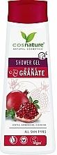 Kup Pielęgnacyjny żel pod prysznic Granat - Cosnature Shower Gel Pomegranate