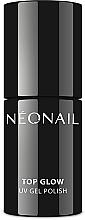 Kup Błyszczący top coat do lakieru hybrydowego - NeoNail Professional UV Gel Polish Top Glow Sparkling