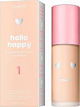 Kup PRZECENA! Rozświetlający podkład do twarzy - Benefit Hello Happy Flawless *