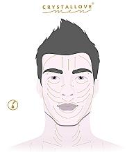 Masażer do twarzy 3D z czarnego obsydianu - Crystallove  — фото N4