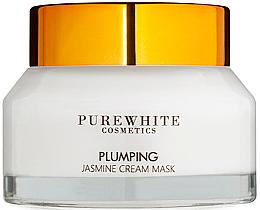 Kup Ujędrniająca maseczka do twarzy z ekstraktem jaśminu - Pure White Cosmetics Plumping Jasmine Cream Mask