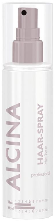 Mocno utrwalający lakier do włosów - Alcina Professional Hair-Spray Hold 6 — фото N1
