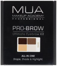 Kup Zestaw do stylizacji brwi - MUA Pro-Brow Ultimate Eye Brow Kit
