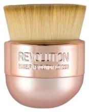 Kup Pędzel do makijażu - Makeup Revolution Oval Precision Kabuki Brush