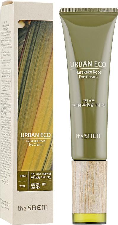 Krem pod oczy z ekstraktem z korzenia lnu nowozelandzkiego - The Saem Urban Eco Harakeke Root Eye Cream Tube Type — фото N1