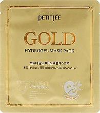 Kup Hydrożelowa maska w płacie do twarzy - Petitfée & Koelf Gold Hydrogel +5 Golden Complex Pack Mask