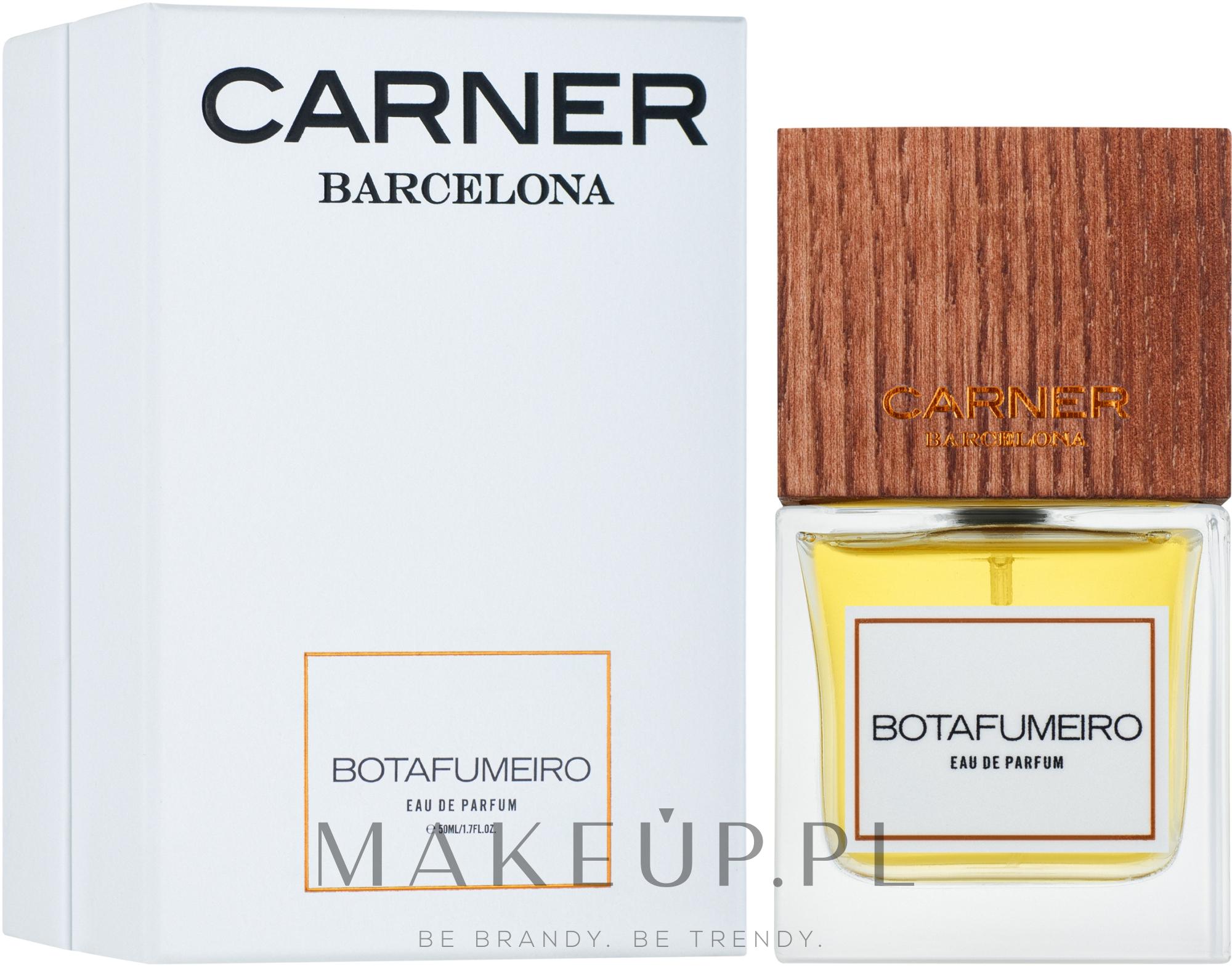 Carner Barcelona Botafumeiro - Woda perfumowana — фото 50 ml