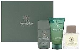 Kup Ermenegildo Zegna Acqua Di Bergamotto - Zestaw (edt 100 ml + deo/stick 73 ml + hair/b/wash 75 ml)