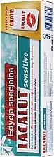 Kup Zestaw - Lacalut Sensitive Special Edition Set (t/paste/75ml + dental/floss)