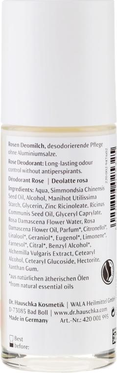 Dezodorant w kulce Róża - Dr. Hauschka Rose Deodorant — фото N2