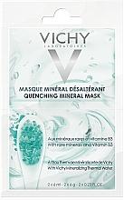 Kup Nawilżająca maska mineralna - Vichy Quenching Mineral Face Mask Review