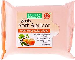 Kup Oczyszczające chusteczki do twarzy - Beauty Formulas Gentle Soft Apricot Cleansing Facial Wipes