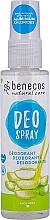 Kup PRZECENA! Dezodorant w sprayu Aloe vera - Benecos Natural Care Aloe Vera Deo Spray *