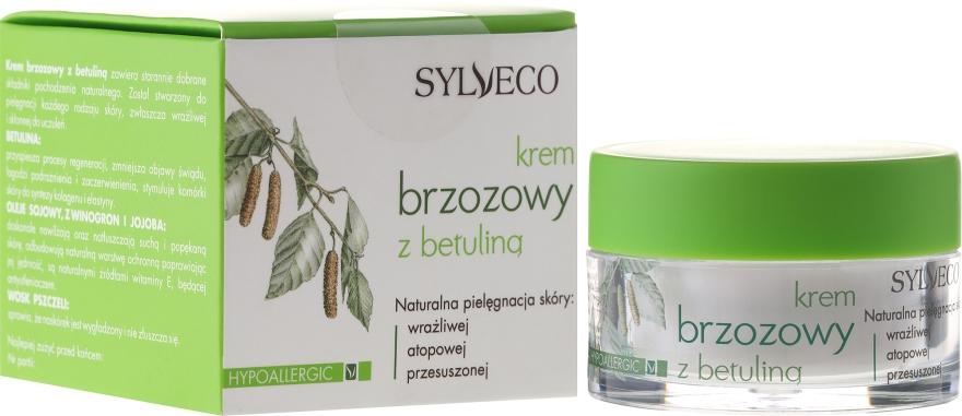 Hipoalergiczny krem brzozowy z betuliną - Sylveco