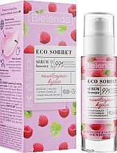 Kup Nawilżająco-kojące serum booster do twarzy z ekstraktem z malin - Bielenda Eco Sorbet Moisturizing & Soothing Serum Booster