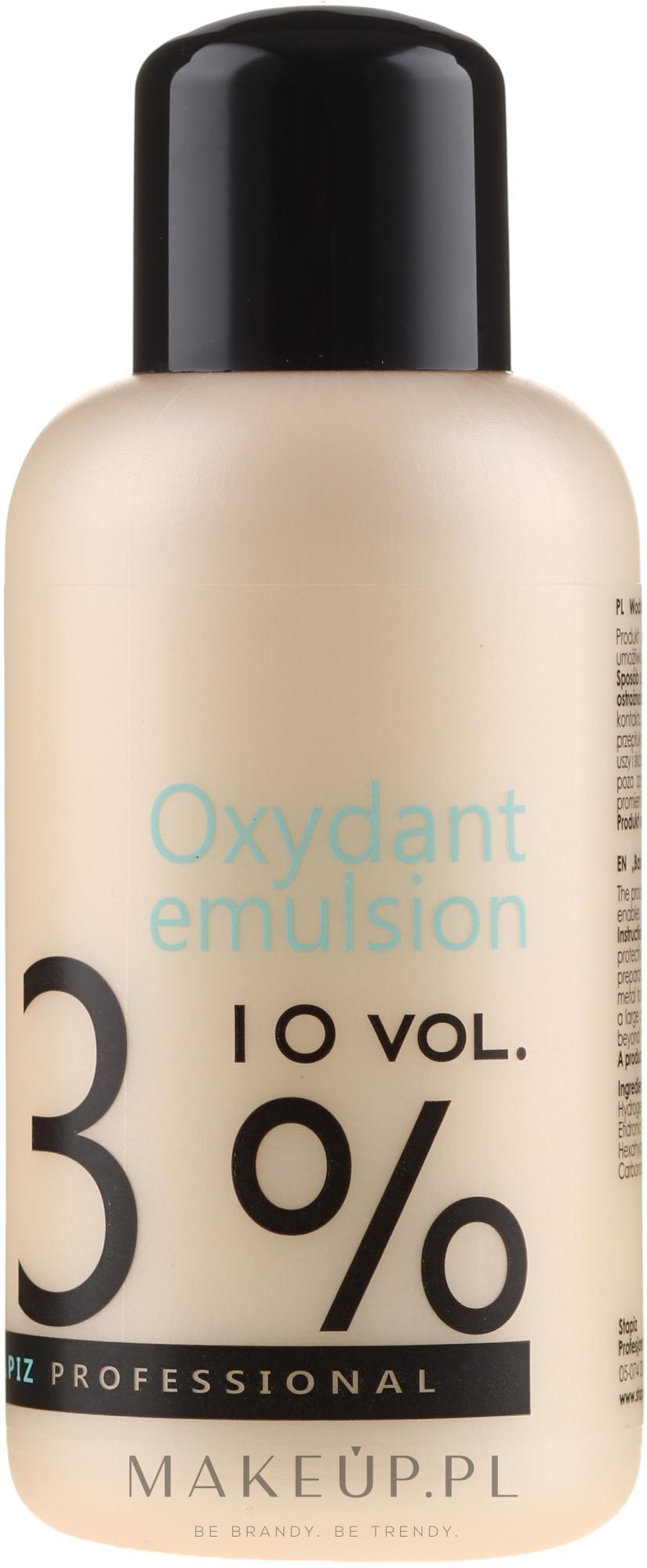 Woda utleniona w kremie 3% - Stapiz Professional Oxydant Emulsion 10 Vol. — фото 150 ml