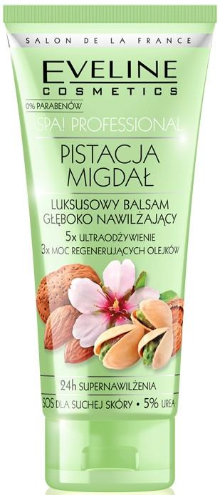 Luksusowy balsam głęboko nawilżający Pistacja i migdał - Eveline Cosmetics Spa Professional