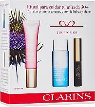 Kup Zestaw - Clarins Multi Active Yeux Set (eye/cr/15ml + makeup/remover/30ml + mascara/3.5ml)