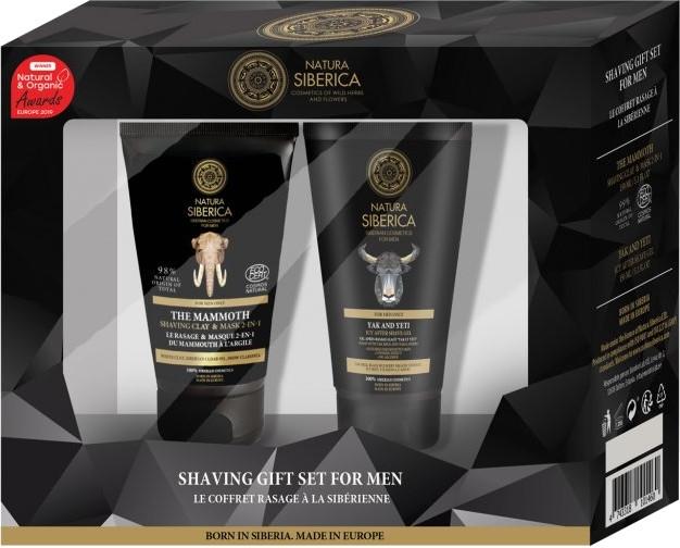 Zestaw prezentowy dla mężczyzn - Natura Siberica (shv/mask 150 ml + ash/gel 150 ml)