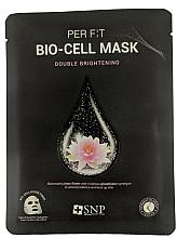 Kup Rozświetlająca maseczka w płachcie do twarzy - SNP Brightening Bio-cell Mask