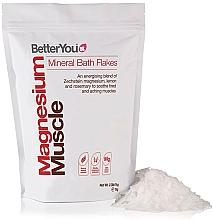 Kup Płatki do kąpieli - BetterYou Magnesium Mineral Bath Flakes Lemon Rosemary