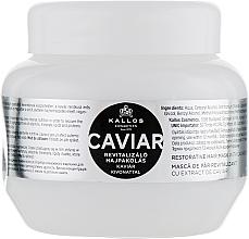 Kup Rewitalizująca maska do włosów z ekstraktem z kawioru - Kallos Cosmetics Caviar Restorative Hair Mask