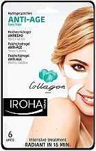 Kup Przeciwstarzeniowe plastry pod oczy - Iroha Nature Anti Age Hydrogel Patches Collagen