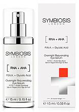 Kup Odmładzające serum pod oczy na noc RNA i kwas glikolowy - Symbiosis London Overnight Rejuvenating Eye Serum