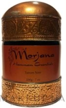 Kup Czarne mydło kosmetyczne - Morjana Hammam Essentials Black Soap