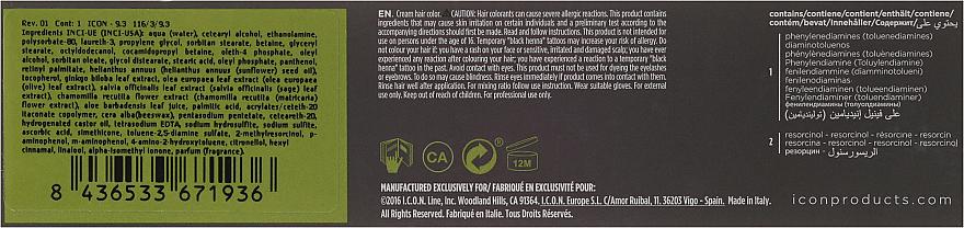 PRZECENA! Nawilżająca farba bez amoniaku do włosów - I.C.O.N. Ecotech Color Natural Hair Color * — фото N3