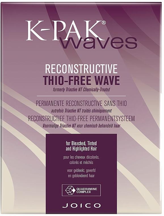 Zestaw do biowacji włosów rozjaśnianych - Joico K-Pak Waves Reconstructive Thio-Free T/H — фото N1