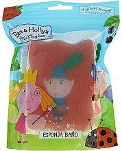 Kup Gąbka do kąpieli Ben i Holly, czerwono-niebieska - Suavipiel Ben & Holly Bath Sponge