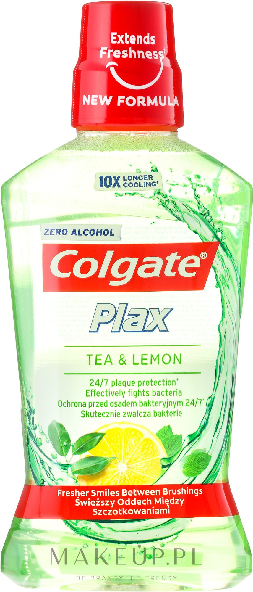 Płyn do płukania jamy ustnej - Colgate Plax Tea & Lemon — фото 500 ml