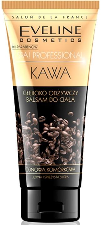 Głęboko odżywczy balsam do ciała Kawa - Eveline Cosmetics Spa Professional Kawa — фото N1