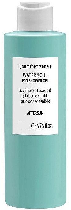 Żel pod prysznic po opalaniu - Comfort Zone Water Soul Eco Shower Gel Aftersun — фото N1
