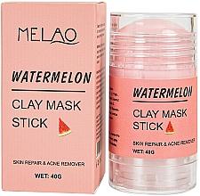 Kup Glinkowa maska w sztyfcie do twarzy Arbuz - Melao Watermelon Clay Mask Stick