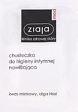Kup Nawilżająca chusteczka do higieny intymnej - Ziaja Med