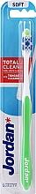 Kup Miękka szczoteczka do zębów, jasnozielona - Jordan Total Clean Soft