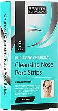 Kup Plastry głęboko oczyszczające pory nosa - Beauty Formulas Purifying Charcoal Deep Cleansing Nose Pore
