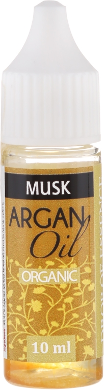 Olej arganowy Piżmo - Drop of Essence Argan Oil Musk