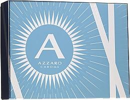 Kup Azzaro Chrome - Zestaw (edt 100 ml + shm 100 ml + ash/balm 50 ml)