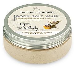 Kup Solna pianka do mycia ciała - The Secret Soap Store Tobacco And Whiskey Body Salt Whip