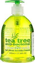 Antybakteryjne mydło w płynie do rąk Drzewo herbaciane - Xpel Marketing Ltd Tea Tree Anti-Bacterial Handwash — фото N1