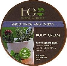 Krem do ciała Gładkość i ton - ECO Laboratorie Smoothness & Tonus Body Cream — фото N1