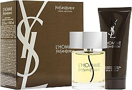 Kup Yves Saint Laurent LHomme - Zestaw (edt 100ml + sh/gel 100ml)