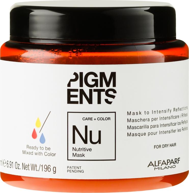 Odżywcza maska do włosów suchych - Alfaparf Pigments Nutritive Mask — фото N1