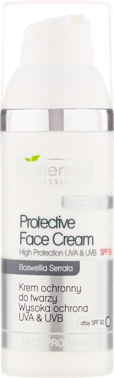 Ochronny krem do twarzy SPF 50 - Bielenda Professional Protective Face Cream